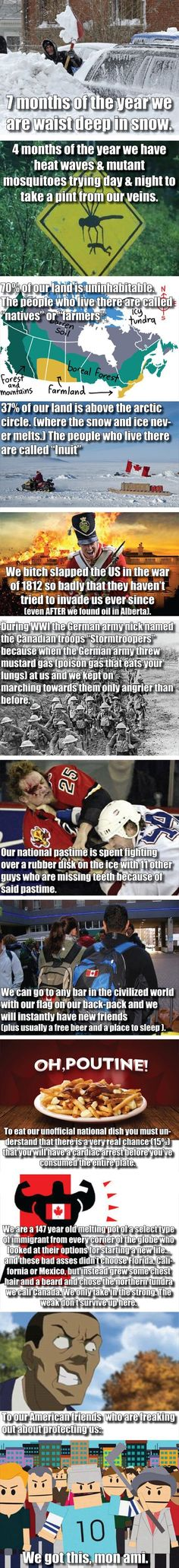 I'm a proud Canadian!~Hunter