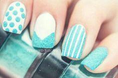 + 40 Fotos de uñas decoradas con terciopelo – velvet Nail art | Decoración de Uñas - Manicura y Nail Art