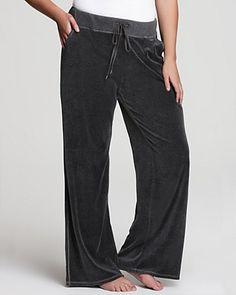 MICHAEL Michael Kors Plus Size Velour Pants   Bloomingdale's