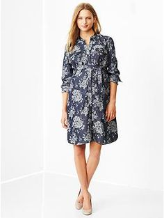 Gap - Jacquard denim shirtdress (Love this but in the winter? still deciding)