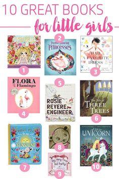 The ten best books for little girls