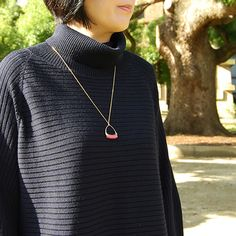 #rhodonite #necklace by #helenarohner