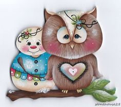 OWL AND SNOWMAN •