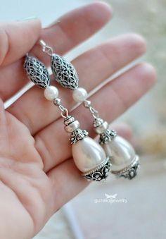 pearl bead earrings made by  Ildar Gataullin from LC.Pandahall.com
