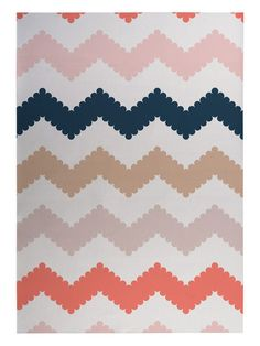 Play Chevron Indoor/Outdoor Floor Mat by Kavka Designs at Gilt