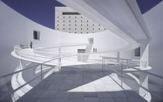 "We would like to make ""the most beautiful building"" for the Museo de al Memoria de Andalucía (Andalusia's Museum of Memory) in Granada. The MA. A museum that wishes to transmit the entire history of Andalusia. Museum Architecture, Cultural Architecture, Architecture Photo, Amazing Architecture, Contemporary Architecture, Spanish Architecture, Shadow Architecture, H Design, Archi Design"