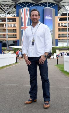 Jason Fox Photos Photos - Jason Fox attends the Red Bull Air Race World Championships at Ascot Racecourse on August 2016 in Ascot, England. - Red Bull Air Race World Championships World Trade Center Attack, Ant Middleton, Ascot England, Special Air Service, Fantastic Mr Fox, August 13, World Championship, Red Bull, Sexy Men