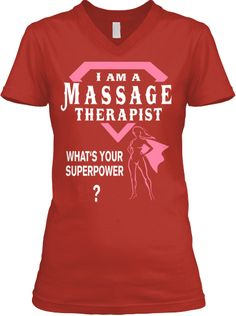 Massage Therapist Superpower Tee