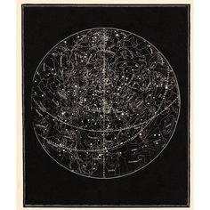 Capricorn Press Visible Heavens Constellation Black 14 x11 By ($140) ❤ liked on Polyvore featuring home, home decor, wall art, posters, black wall art, constellation poster, black poster, black framed wall art and framed posters