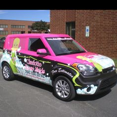 Charlotte House Maids vehicle wrap by KrankenSigns.com