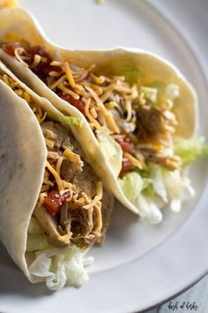Turn up your Taco Tuesday with this Instant Pot chipotle chicken tacos recipe. This recipe is packed with flavor (the chipotle chilies will do that) and is