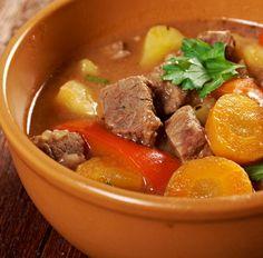 Eintopf mit Möhren und Rindfleisch Tags: