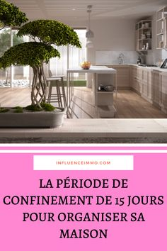 The confinement period to organize your home. Journal Organization, Organizing Your Home, Sweet Home, Organiser, Plans, Routine, French, Lifestyle, Home Cleaning