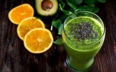 Suco Detox de Abacate com Laranja Para Prevenir Anemia