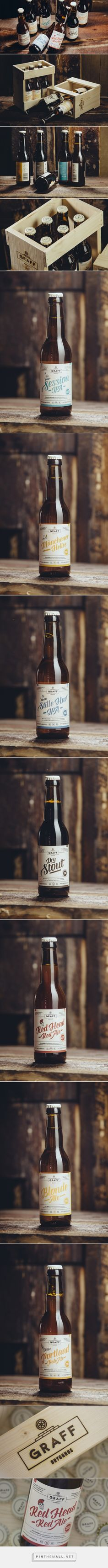 The Graff Beer design family — The Dieline - Branding & Packaging - created via http://pinthemall.net
