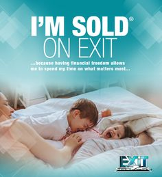 At EXIT we believe that real estate professionals should be able to live for today while building a better tomorrow. We believe in changing lives. Learn more at http://exitrealty.com/exit