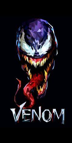 Venom Comics, Marvel Venom, Marvel Villains, Marvel Art, Marvel Dc Comics, Marvel Heroes, Deadpool Wallpaper, Avengers Wallpaper, Spiderman Art