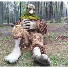 Ben Gazsi's Earth Day Sculpture