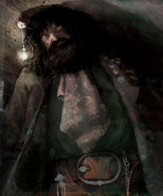Hagrid by illustrator Jim Kay. Harry Potter UK publisher Bloomsbury released four new images from the upcoming illustrated edition of Harry Potter and the Philosopher's Stone, which will hit store shelves later this year.