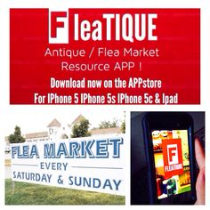 Download FLEATIQUE APP on the App Store ---- vintage retro fleamarket flea market antique antiques american pickers junk gypsy junk gypsies store mall market shabby chic repurposed repurpose upcycled
