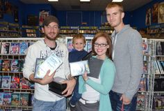 Our first prize winner's photo with family at - thanks Darryl - check our FB page too. First Prize, Fb Page, Very Well, Aurora, Thankful, Games, Top, Gaming, Toys