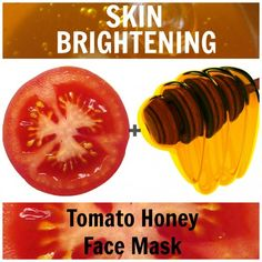 to brighten your skin and make it blemish free? Regularly use a nourishing tomato honey face mask.Want to brighten your skin and make it blemish free? Regularly use a nourishing tomato honey face mask. Tomato Face Mask, Avocado Face Mask, Tumeric Masks, Tumeric Face, Honey Face Mask, Lighten Skin, Homemade Face Masks, Radiant Skin, Tips Belleza