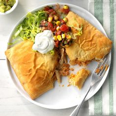 Chicken Taco Pockets Mexican Dishes, Mexican Food Recipes, Dinner Recipes, Dinner Ideas, Taco Pockets, Chicken Pockets, Hot Pockets, Crescent Rolls, Cinco De Mayo