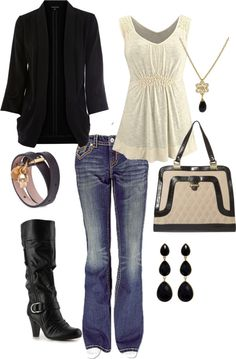 """Back in Black"" by bbricker39 on Polyvore"
