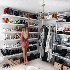 Turned my spare bedroom into a Closet/Office. Can you guess what my favorite par… Turned my spare bedroom into a Closet/Office. Can you guess what my favorite part is? Bedroom Storage Ideas For Clothes, Bedroom Storage For Small Rooms, Closet Ideas, Wardrobe Ideas, Diy Clothes, Open Wardrobe, Wardrobe Closet, Small Bedrooms, Master Bedrooms