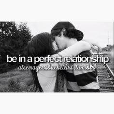 Perfect relationship.