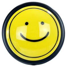 SUNLITE 12pcs Smiley Push Lite Yellow Color E184