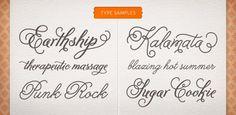 Typographie : Melany Lane par Yellow Design Studio