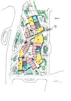スケッチサンプル retail plan concept I randy carizo