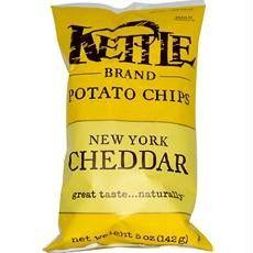 Kettle Potato Chips New York Cheddar (12x8.5oz)