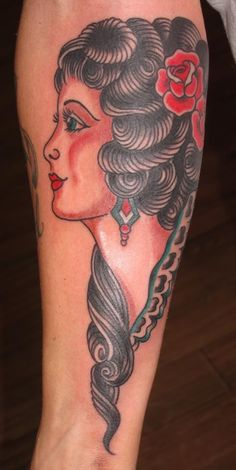 Sailor Jerry tattoo by Jon Reed
