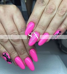 Indigo Gel Brush Pop Star by Monika Kaczmarek, Indigo Young Team #hot #pink #pinknails #nails #nail #nailsart #think #sexy