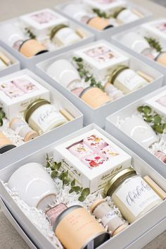 CUSTOM CLIENT GIFT BOXES Marigold & Grey creates artisan gifts for all occasions. Wedding welcome gifts. Workshop swag. Client gifts. Corporate event gifts. Bridesmaid gifts. Groomsmen Gifts. Holiday Gifts. Click to order online. Image: Lissa Ryan Photography