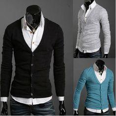 para eles: camisa + cardigã. Você encontra camisas masculinas Estevam para compôr looks com este no www.estevamstore.com.br/camisa-masculina.html