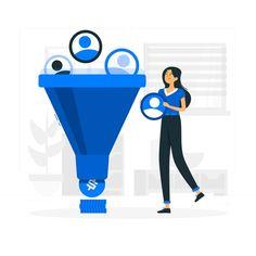Business Illustration, Flat Illustration, Illustrations, Digital Advertising Agency, Digital Marketing, Instructional Design, Vector Photo, Displaying Collections, Lead Generation