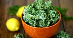 """Making homemade kale chips is so much healthier than buying highly processed store-bought chips with """"dead"""" ingredients."""