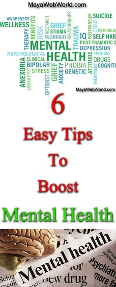 6 Easy To Follow Tips to Boost Mental Health