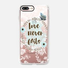 Love Never Fails - Classic Grip Case