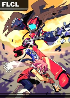 FLCL by chingisss.deviantart.com on @deviantART
