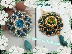"""Videoanleitung für den Anhänger """"Sky Blue"""" (Einfassung des Ricolis wird vorausgesetzt) von Le gioie di Carmen auf YouTube"""