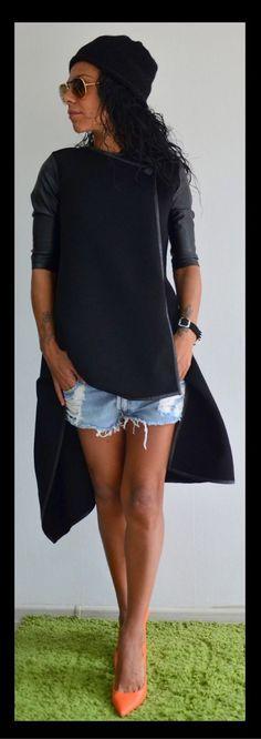 Купить Пальто Black Combo - пальто, пальто женское, шерстяное пальто, пальто из шерсти