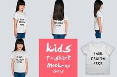 kids T-shirt Mock-up by Mock-up Store on @creativemarket
