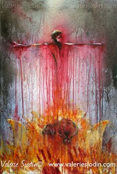 visual blessings: New Revelation and Sacrifice - The Brazen Altar. Wow! What a powerful picture of Christ's sacrifice.