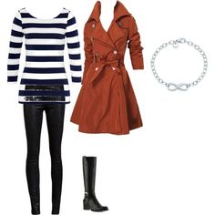 """Another """"Urban Casual"""" ensemble. Good for fall and early winter."""