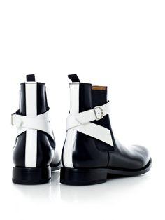 Balenciaga Leather Chelsea Boots | SOLETOPIA