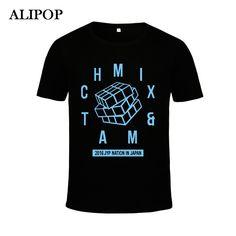 KPOP Korean Fashion GOT7 Jackson 2PM Nichkhun JYP NATION MIX MATCH Cotton Tshirt K-POP T Shirts T-shirt PT209 #Affiliate